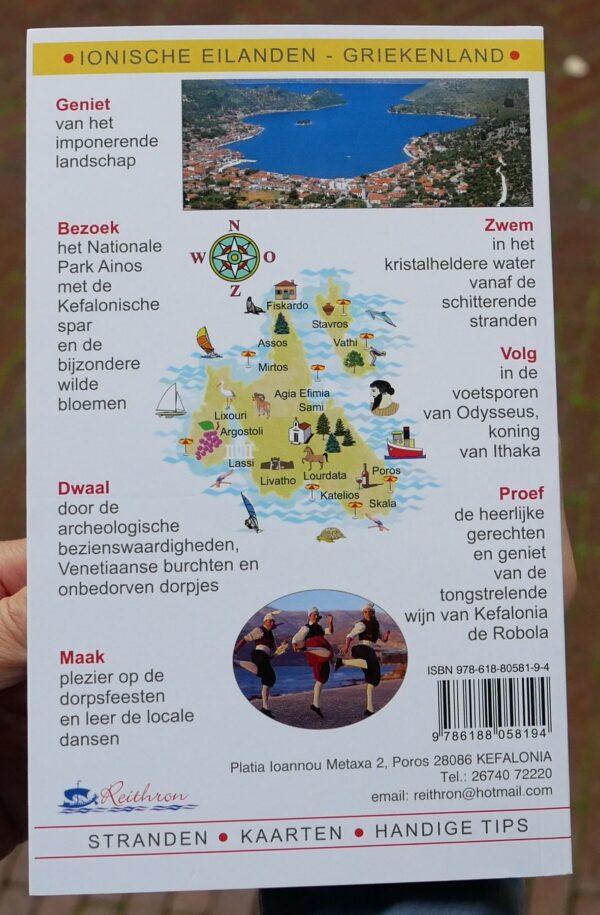 Ontdek Kefaloniá & Itháki [reisgids, 5e ed.] 9786188058194 Hettie Metaxas-Putman Cramer Reithron   Reisgidsen Ionische Eilanden (Korfoe, Lefkas, etc.)