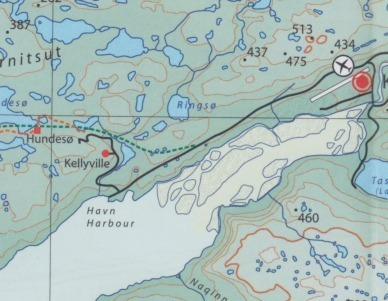 Kangerlussuaq - Sisimiut | overzichtskaart 1:250.000 9788799292523  Arctic Sun Maps   Landkaarten en wegenkaarten Groenland