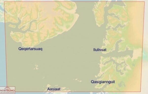Disko Bay   overzichtskaart 1:250.000 9788799292554  Arctic Sun Maps   Landkaarten en wegenkaarten Groenland