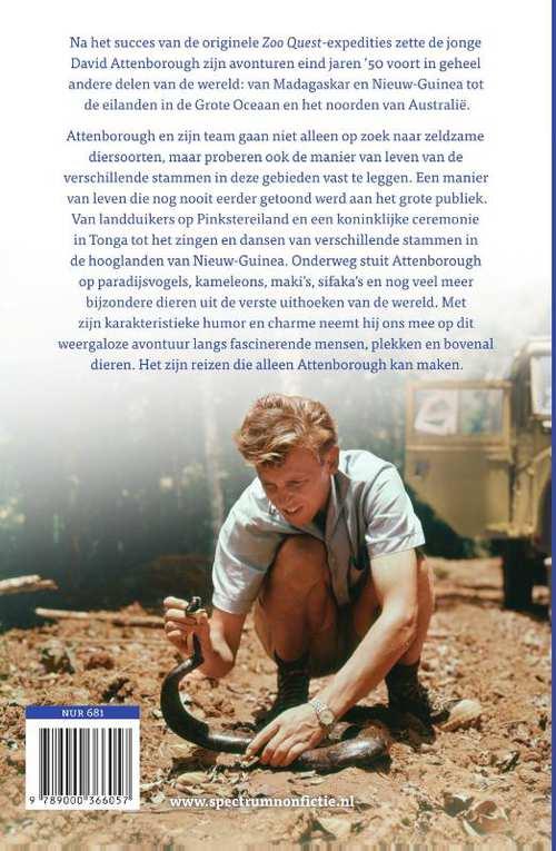 Reizen naar de andere kant van de wereld   David Attenborough 9789000366057 David Attenborough Spectrum   Cadeau-artikelen, Natuurgidsen, Reisverhalen Wereld als geheel