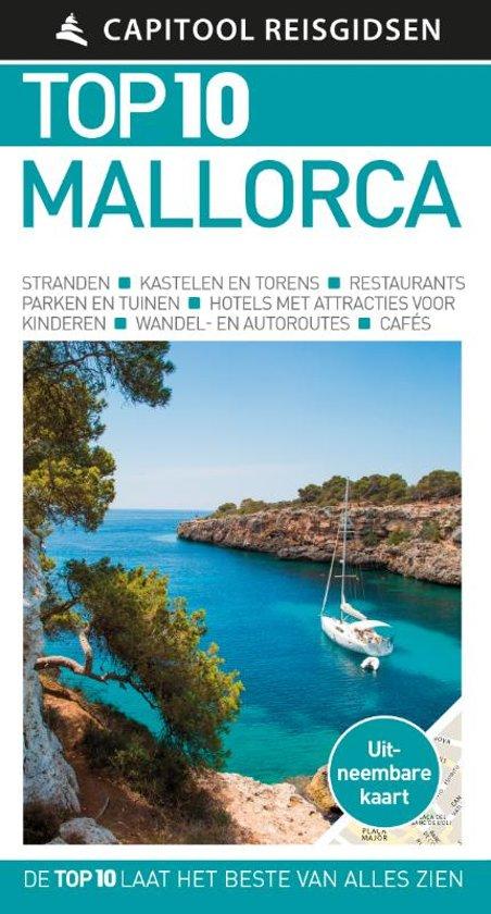 Capitool Top 10 Mallorca 9789000368648  Unieboek Capitool Top 10  Reisgidsen Mallorca
