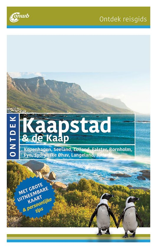 ANWB reisgids Ontdek Kaapstad & de Kaap 9789018044558  ANWB ANWB Ontdek gidsen  Reisgidsen Zuid-Afrika