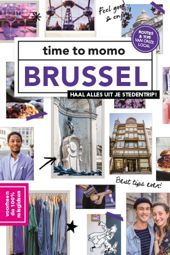 Time to Momo Brussel (100%) 9789057679476  Mo Media Time to Momo  Reisgidsen Brussel