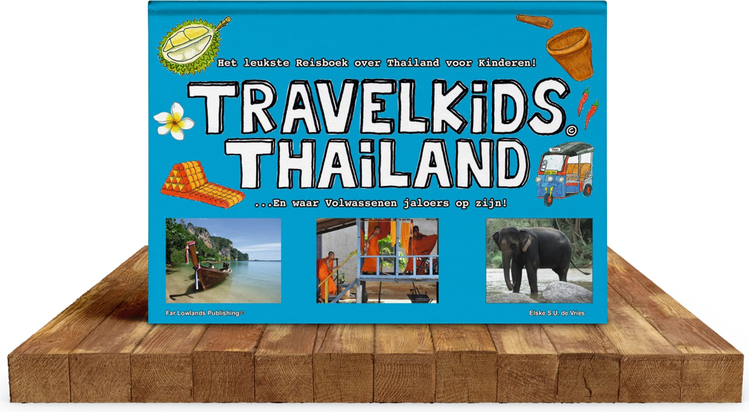 TravelKids Thailand 9789081917735  Far Lowlands Publishing   Kinderboeken, Reisgidsen Thailand