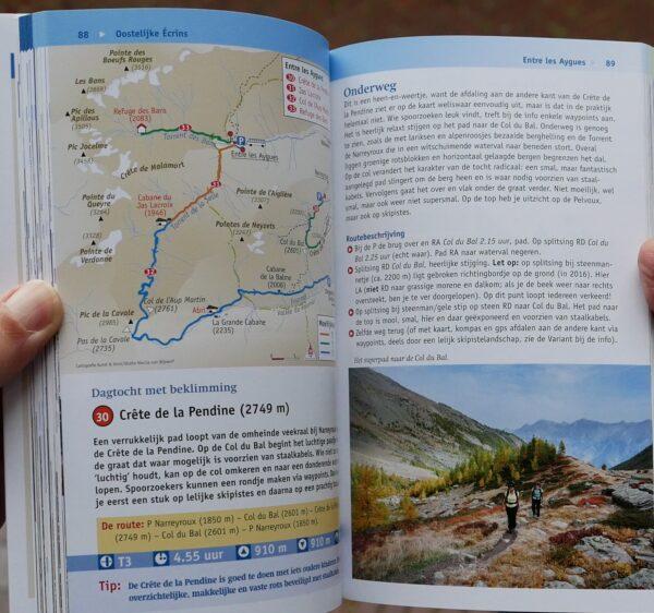 Met uitzicht op de Écrins 9789082334524 Noes Lautier en Robert Eckhart Robert Weijdert   Reizen met kinderen, Wandelgidsen Franse Alpen: zuid