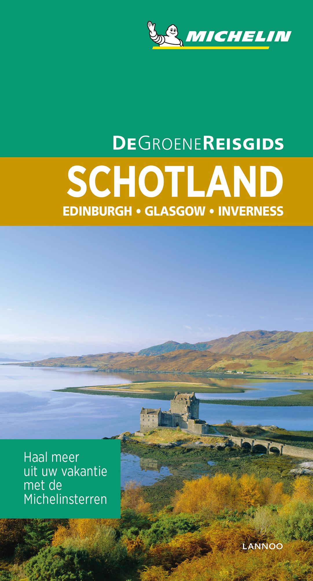 Schotland | Michelin reisgids 9789401457378  Michelin Michelin Groene gidsen  Reisgidsen Schotland