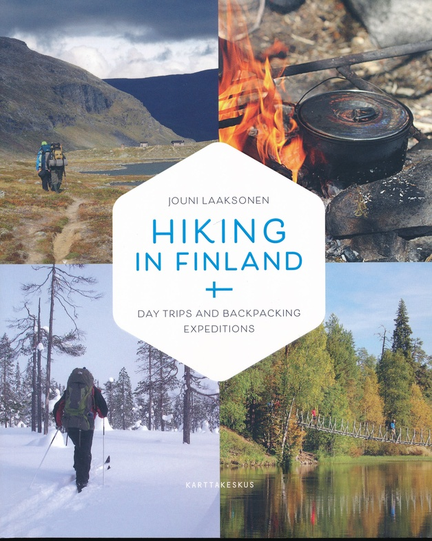 Hiking in Finland 9789522665614  Karttakeskus   Wandelgidsen Finland