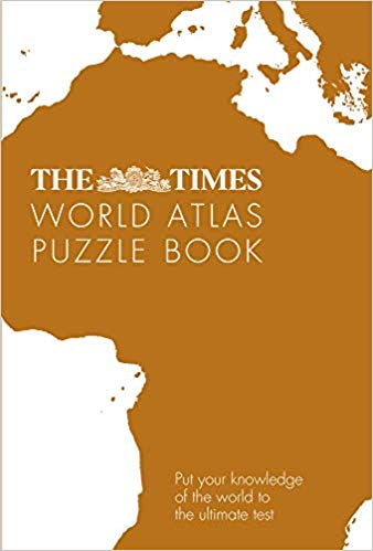 The Times World Atlas Puzzle Book 9780008351786  Collins   Cadeau-artikelen, Landeninformatie Wereld als geheel