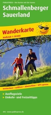 Schmallenberg Sauerland | wandelkaart 1:30.000 9783747304921  Publicpress Wandelkaarten - mit der Sonne  Wandelkaarten Sauerland