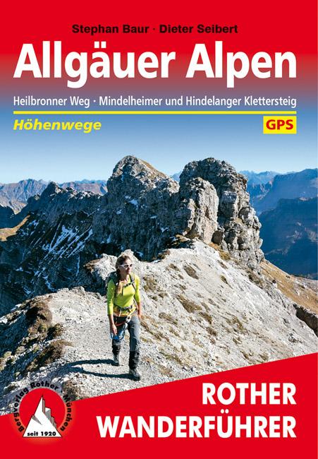 Rother wandelgids Allgäuer Alpen Höhenwege | Rother Wanderführer 9783763331208  Bergverlag Rother RWG  Meerdaagse wandelroutes, Wandelgidsen Beierse Alpen