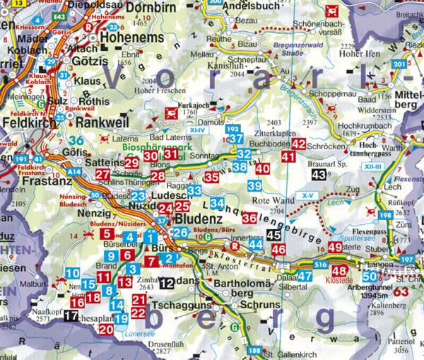 Rother wandelgids Brandnertal   Rother Wanderführer 9783763340354  Bergverlag Rother RWG  Wandelgidsen Tirol & Vorarlberg