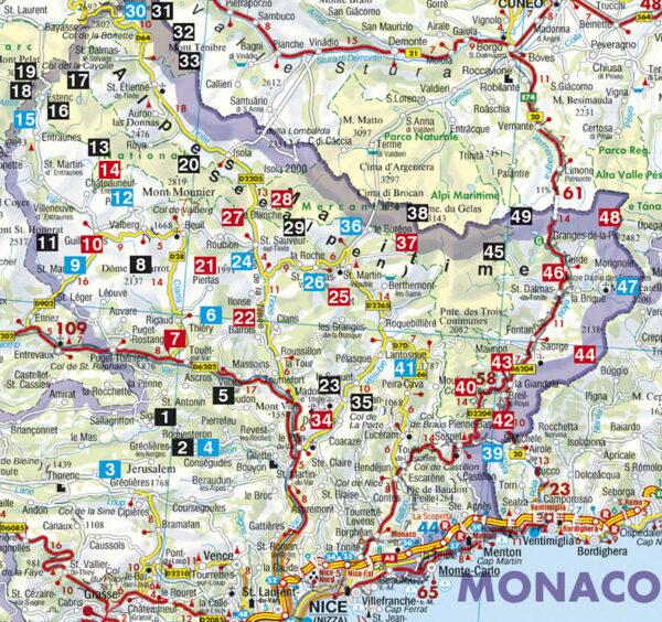 Rother wandelgids Seealpen (Mercantour) | Rother Wanderführer 9783763341467  Bergverlag Rother RWG  Wandelgidsen Côte d'Azur, Franse Alpen: zuid