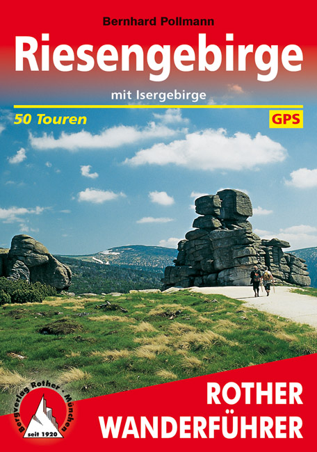 Riesengebirge | Rother Wanderführer (wandelgids) 9783763342228  Bergverlag Rother RWG  Wandelgidsen Tsjechië