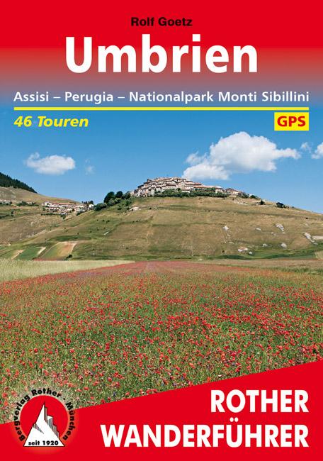 Umbrien - Umbrië | Rother Wanderführer (wandelgids) 9783763343249  Bergverlag Rother RWG  Wandelgidsen Umbrië