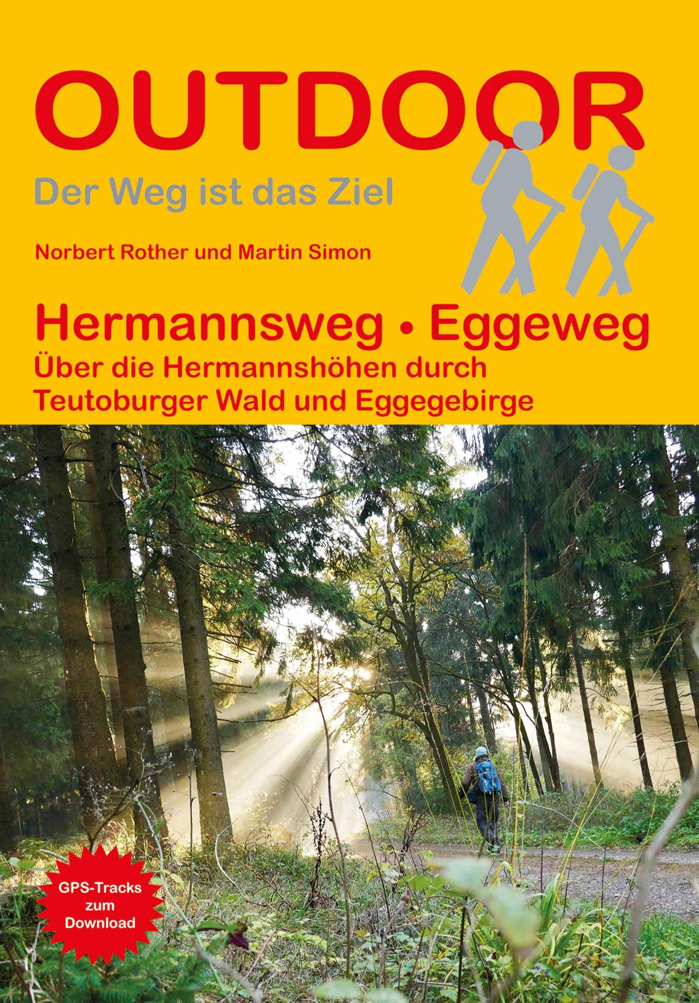 Hermannsweg - Eggeweg | wandelgids (Duitstalig) 9783866866218  Conrad Stein Verlag Outdoor - Der Weg ist das Ziel  Meerdaagse wandelroutes, Wandelgidsen Teutoburger Woud & Ostwestfalen