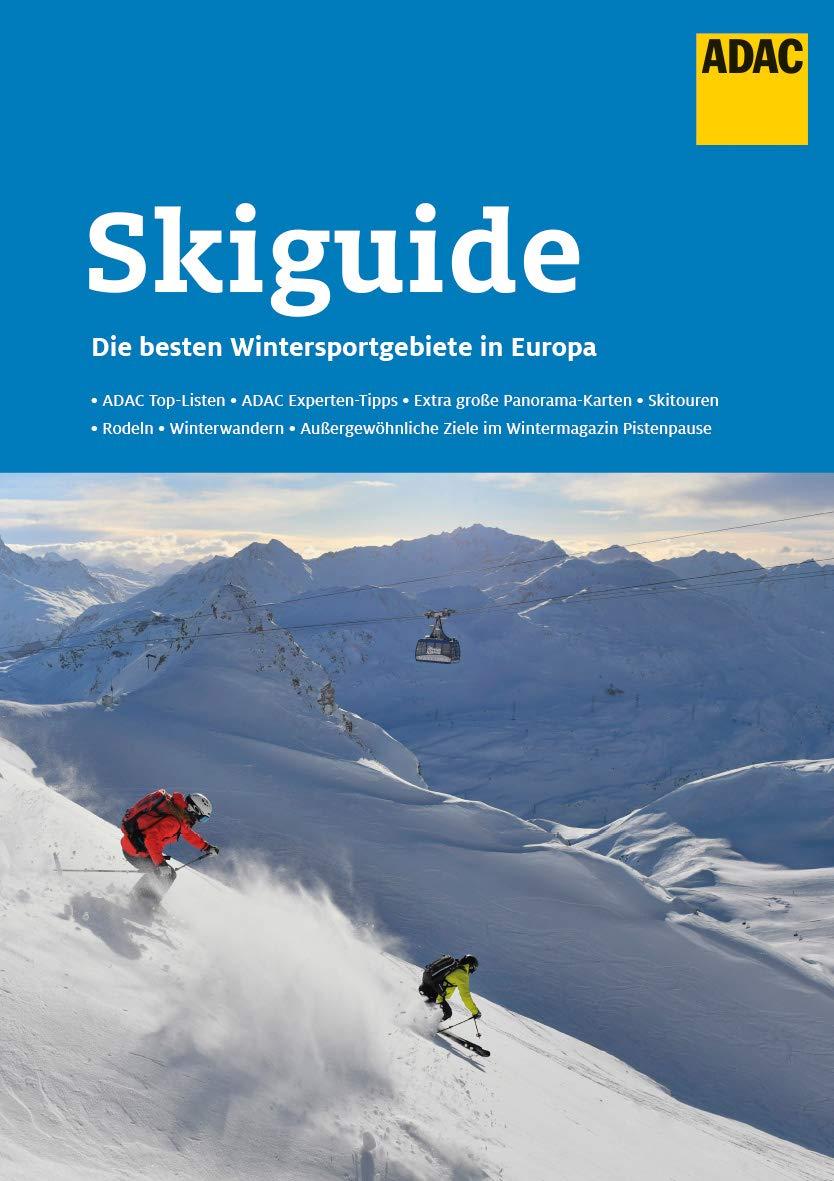 ADAC SkiGuide Ski Atlas 9783956896217  ADAC   Wintersport Zwitserland en Oostenrijk (en Alpen als geheel)