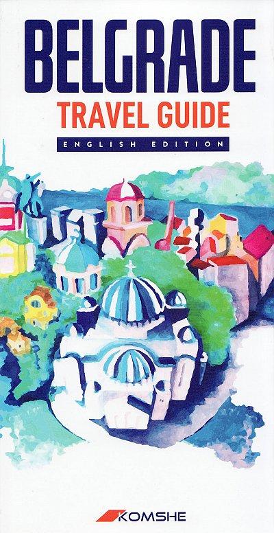 Belgrade Travel guide (reisgids Belgrado) 9788686245403  Komshe   Reisgidsen Servië, Bosnië-Hercegovina, Macedonië, Kosovo, Montenegro