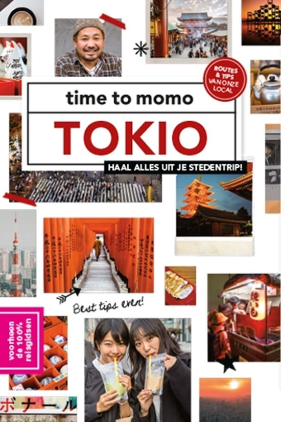 Time to Momo Tokio (100%) 9789057679407  Mo Media Time to Momo  Reisgidsen Japan