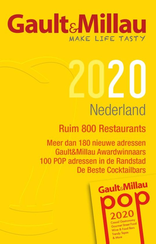Gault&Millau Nederland 2020 | restaurantgids 9789082895711  Mo'Media / Gault Millau   Restaurantgidsen Nederland