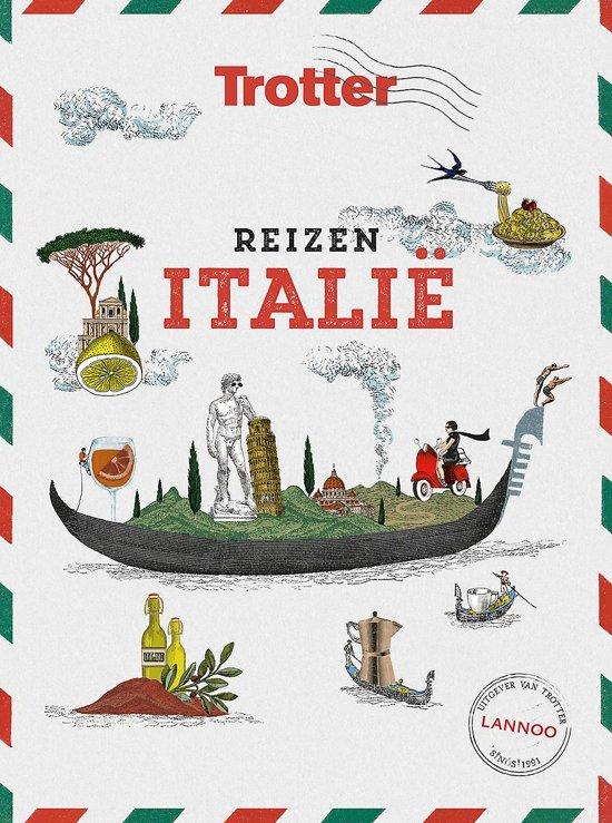 Trotter Reizen Italië 9789401461214  Lannoo   Cadeau-artikelen, Reisgidsen Italië