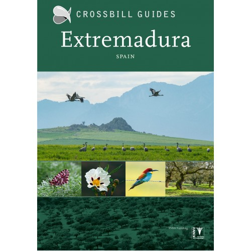 Extremadura | Crossbill Guide 9789491648182 Dirk Hilbers Crossbill Guides Foundation / KNNV Nature Guides  Natuurgidsen Extremadura