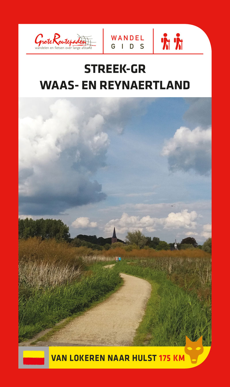 Streek-GR Waas- en Reynaertland 9789492608055  Grote Routepaden Topogidsen  Wandelgidsen Vlaanderen