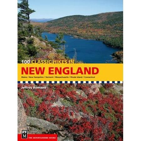 100 Classic Hikes in New England 9781594851001  Mountaineers   Wandelgidsen New England