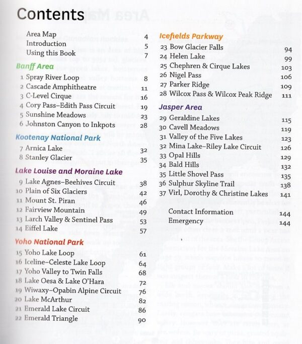 Popular Day Hikes Canadian Rockies 9781771602679 Tony Daffern Rocky Mountain Books   Wandelgidsen West-Canada, Rockies