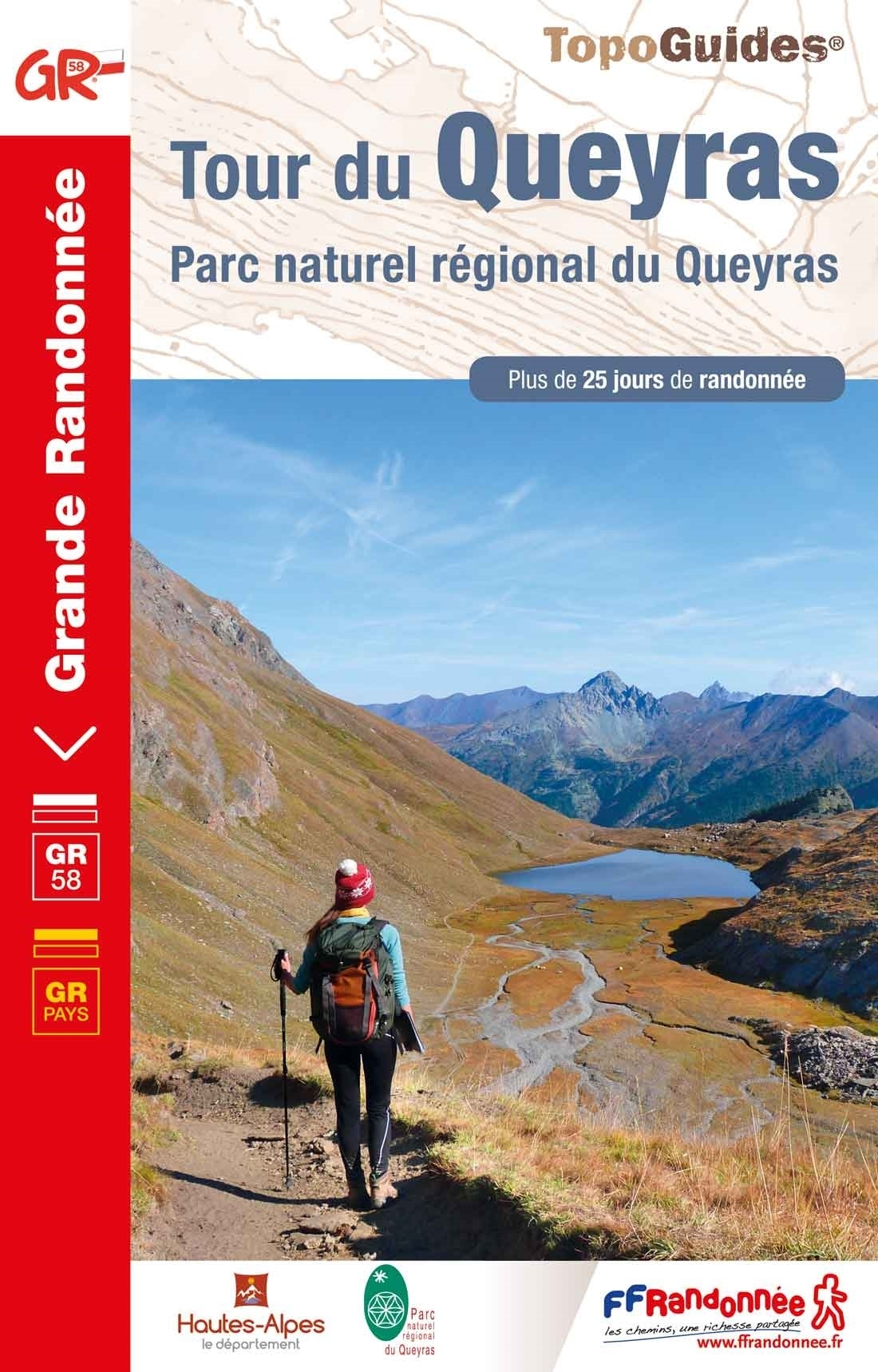 TG505  Tour du Queyras | wandelgids GR-58 9782751403132  FFRP Topoguides  Meerdaagse wandelroutes, Wandelgidsen Franse Alpen: zuid