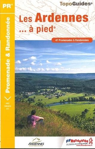 D008  Les Ardennes... à pied | wandelgids 9782751409523  FFRP Topoguides  Wandelgidsen Champagne, Franse Ardennen
