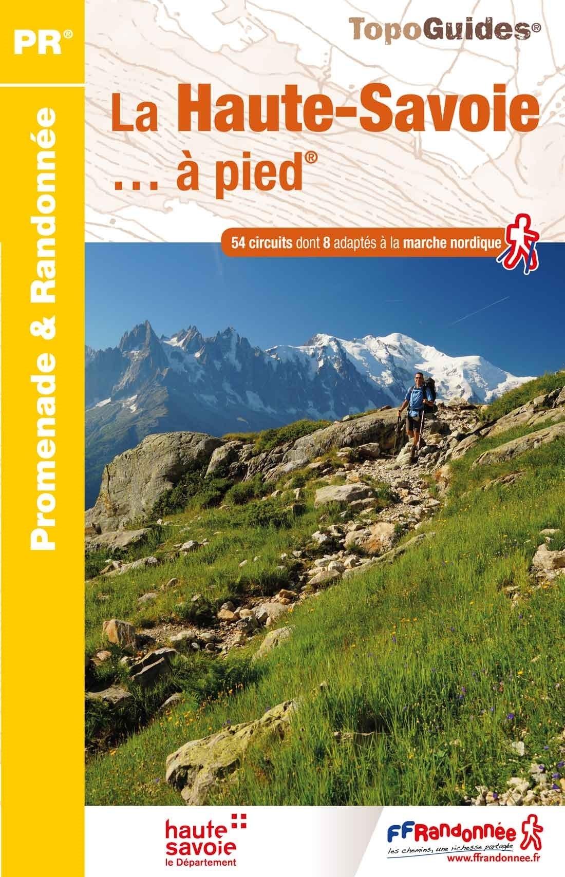 D074  Haute-Savoie... à pied | wandelgids 9782751410277  FFRP Topoguides  Wandelgidsen Franse Alpen: noord