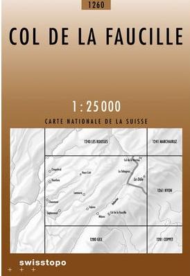 CH-1260 Col de la Faucille [2006] topografische wandelkaart 9783302012605  Bundesamt / Swisstopo LKS 1:25.000 Jura, Vaud  Wandelkaarten Jura, Genève, Vaud