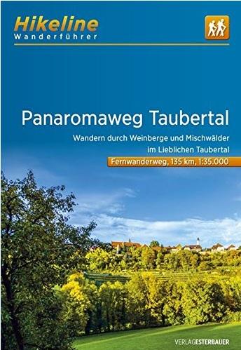 Panoramaweg Taubertal | Hikeline Wanderführer (wandelgids) 9783850007078  Esterbauer Hikeline wandelgidsen  Meerdaagse wandelroutes, Wandelgidsen Franken, Nürnberg, Altmühltal