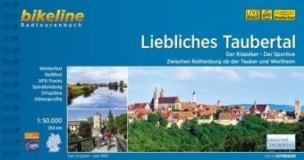 Bikeline Liebliches Taubertal | fietsgids 9783850008112  Esterbauer Bikeline  Fietsgidsen Romantische Strasse, Schwaben