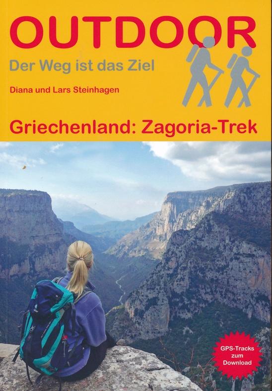 Zagoria Trek | wandelgids (Duitstalig) 9783866866102  Conrad Stein Verlag Outdoor - Der Weg ist das Ziel  Meerdaagse wandelroutes, Wandelgidsen Midden en Noord-Griekenland, Athene