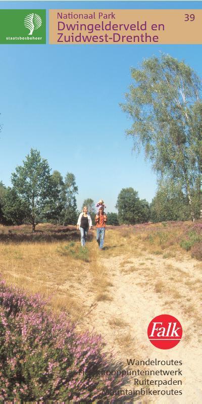 SBB-39 Dwingelderveld / Ruinen   wandelkaart 1:25.000 9789028700598  Staatsbosbeheer SBB kaart 1:25.000  Wandelkaarten Drenthe
