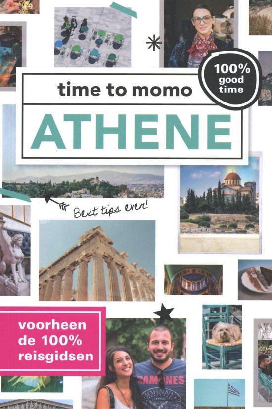 Time to Momo Athene (100%) 9789057678936  Mo Media Time to Momo  Reisgidsen Midden en Noord-Griekenland, Athene
