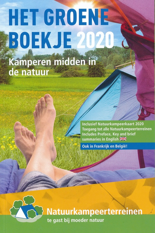 Het Groene Boekje 2020 9789082009767  De Groene Koepel   Campinggidsen Nederland