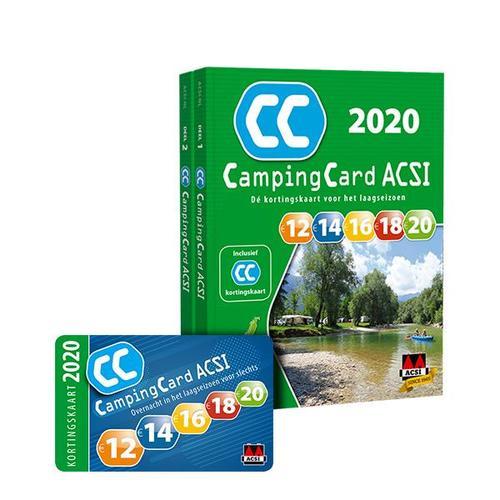 ACSI CampingCard 2020 9789492023902  ACSI   Campinggidsen Europa