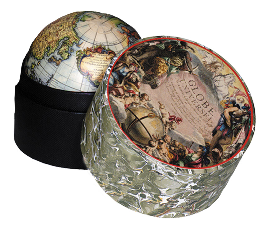 Globe Vaugondy | in a box GL027  Authentic Models Globes / Wereldbollen  Globes Wereld als geheel