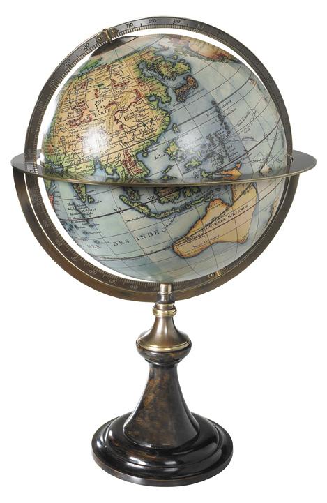 Classic Globe Paris 1745 GL035 Vaugondy Authentic Models Globes / Wereldbollen  Globes Wereld als geheel