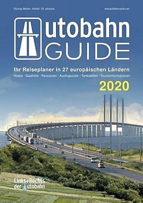 Autobahn Guide 2020(Links & rechts van de snelweg) 4195794909953  Stüning   Hotelgidsen Europa