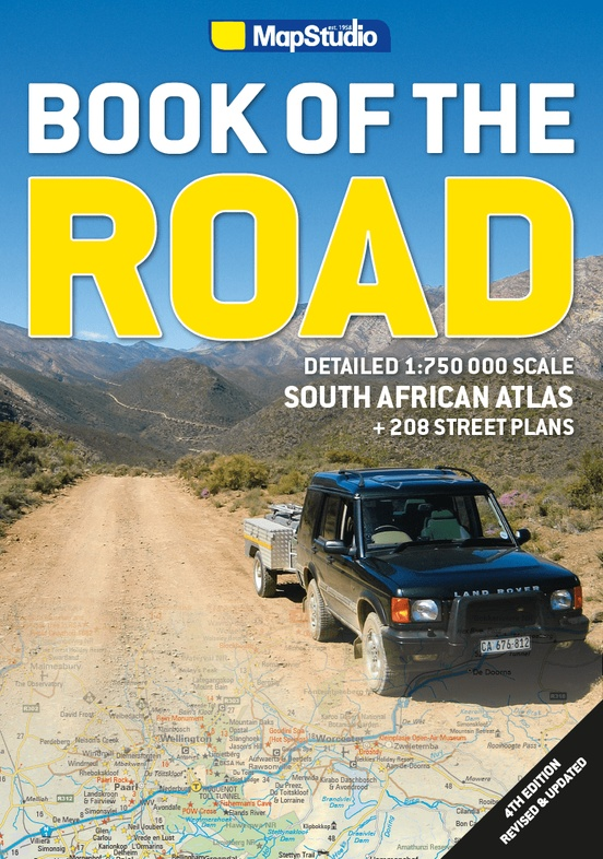 Book of the Road 9781776170265  New Holland Wegenatlassen  Wegenatlassen Zuid-Afrika