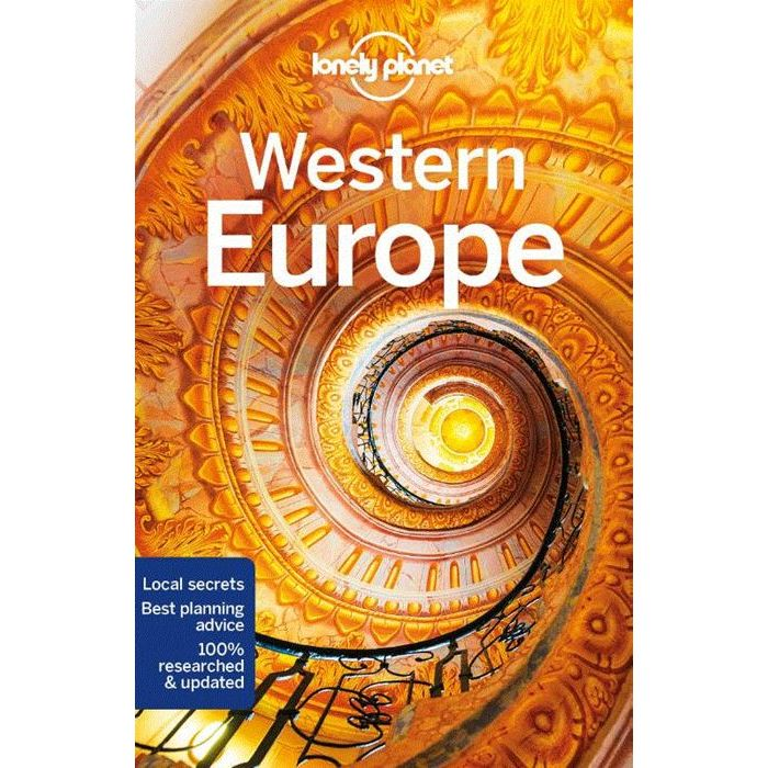 Lonely Planet Western Europe 9781787013728  Lonely Planet Travel Guides  Reisgidsen Europa