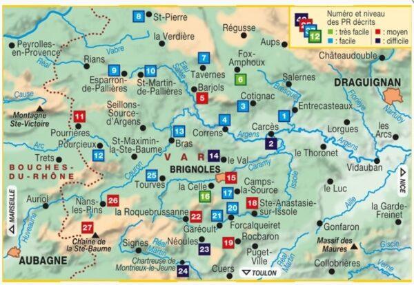 P834  La Provence Verte | wandelgids 9782751409356  FFRP Topoguides  Wandelgidsen Provence, Marseille, Camargue