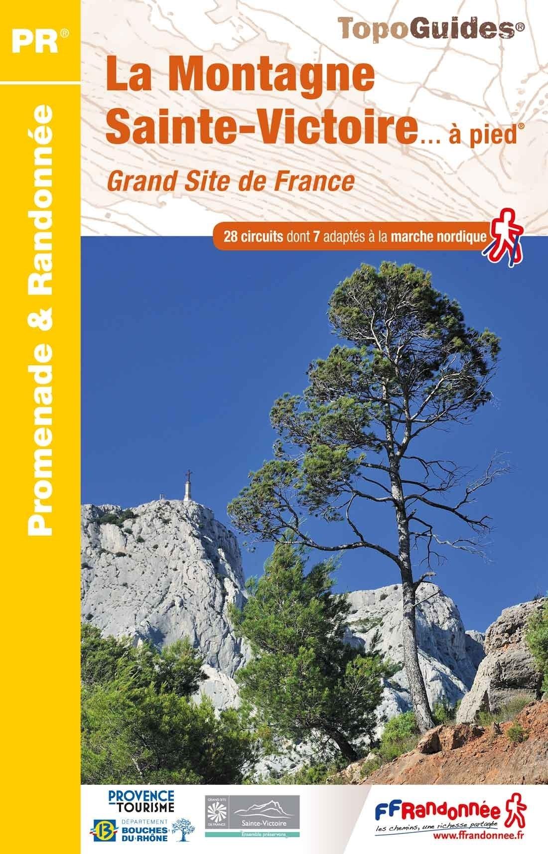 P131 La Montagne Sainte-Victoire | wandelgids 9782751410338  FFRP Topoguides  Wandelgidsen Provence, Marseille, Camargue