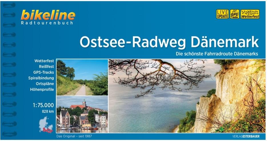Bikeline Ostsee-Radweg Dänemark | fietsgids 9783850008273  Esterbauer Bikeline  Fietsgidsen, Meerdaagse fietsvakanties Denemarken