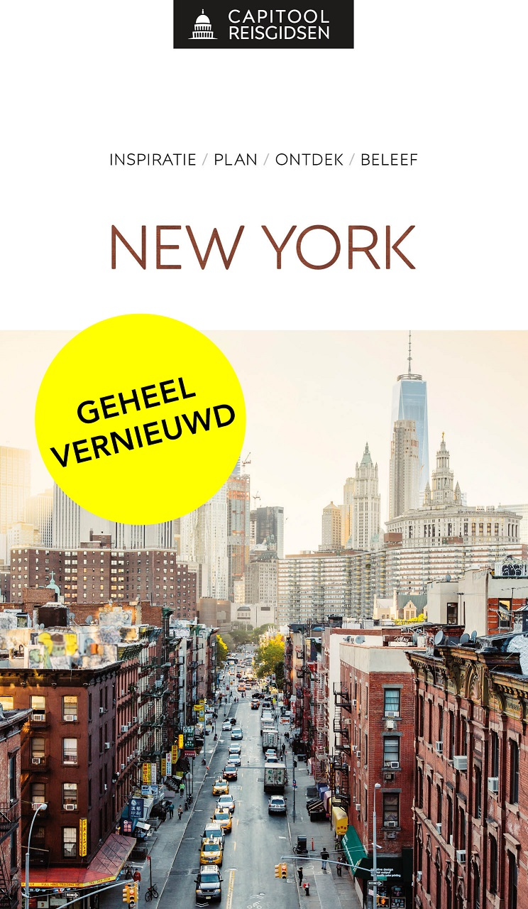 Capitool gids New York 9789000369041  Unieboek Capitool Reisgidsen  Reisgidsen New York, Pennsylvania, Washington DC