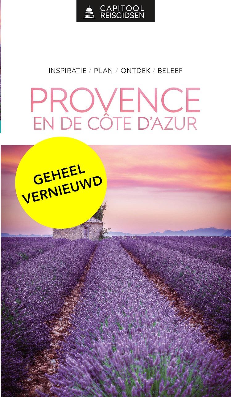 Capitool gids Provence & Cote d Azur 9789000369072  Unieboek Capitool Reisgidsen  Reisgidsen Côte d'Azur, Provence, Marseille, Camargue