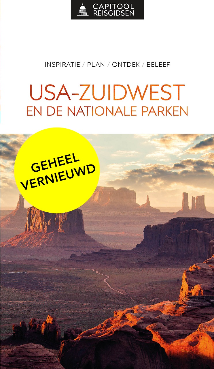Capitool USA Zuidwest en de Nationale Parken 9789000369089  Unieboek Capitool Reisgidsen  Reisgidsen Colorado, Arizona, Utah, New Mexico